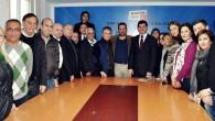 CHP Muratpaşa İlçe Örgütü İl Başkanlığı Ziyareti