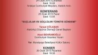 24-31 Ocak Adalet ve Demokrasi Haftası Anma Etkinlikleri